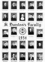 1954 Faculty Photographs