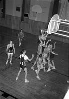 Junior Varsity Basketball Action