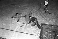 Intramural Hockey Action