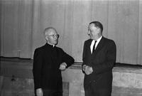 Envelope 25 - SDU - Rector John Sullivan with Dr Marshall McLuhan