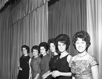 1963 Winter Carnival Queen Contestants