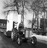 Float Pulled by Tractor