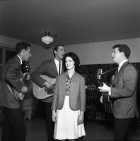Journeymen Serenade a Young Woman